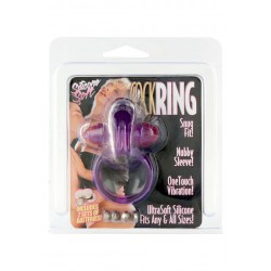 Anello vibrante RABBIT VIBRATING COCKRING PURPLE