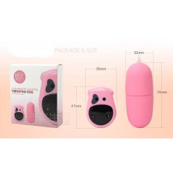 Ovetto vibrante Wireless rosa